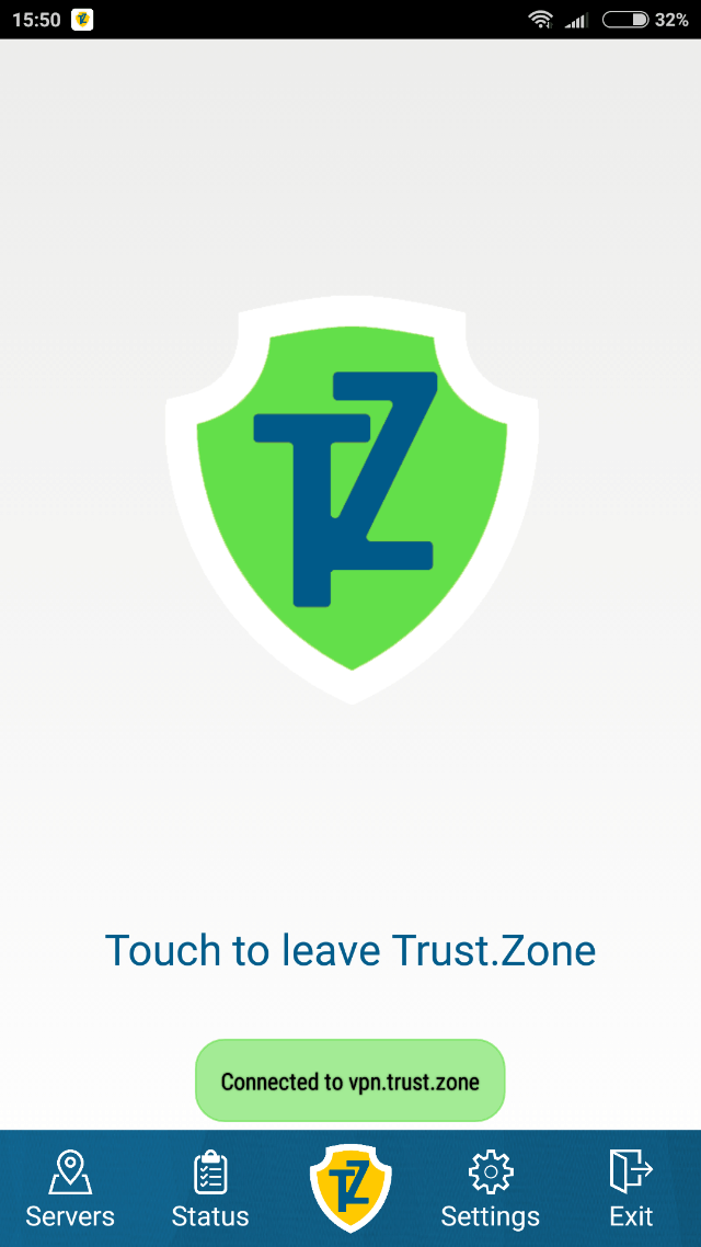 Android için Trust.Zone VPN