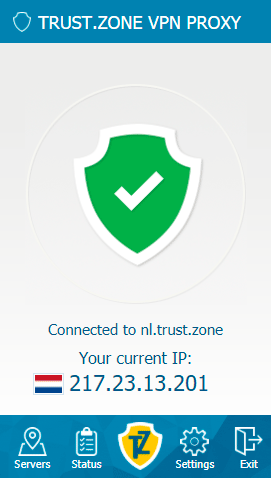 Trust.Zone VPN Client for Firefox