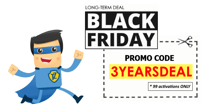 Black Friday 3 YEARS Deal from Trust.Zone. 99 licences only!