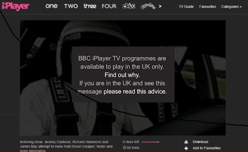 BBC iPlayer Blocked Access for All VPN Services