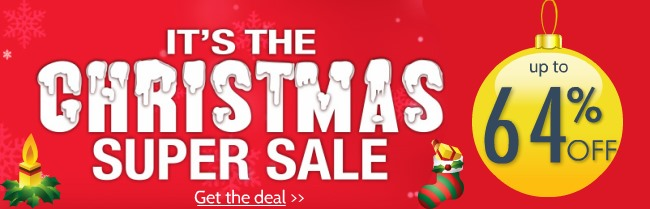 Christmas SALE Starts Now! Up to 64% OFF on VPN!