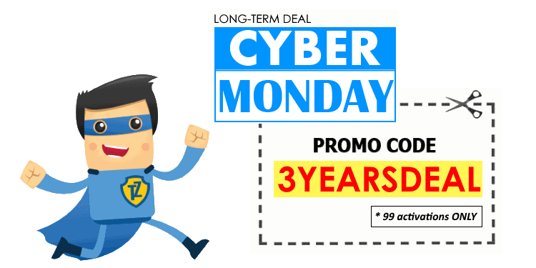 Cyber Monday 3 YEARS Deal from Trust.Zone. 99 licences ONLY!