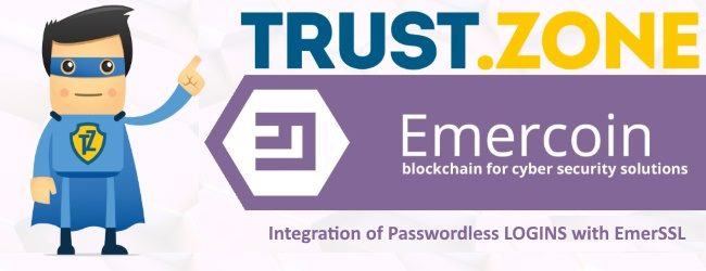 Trust.Zone to Integrate Decentralized EmerSSL Certificates