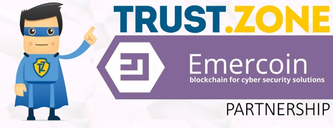 Trust.Zone VPN to Utilize Emercoin Blockchain Technology