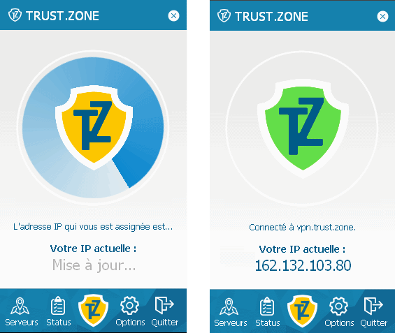 Trust.Zone VPN Software is Now Available in French