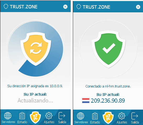 Trust.Zone VPN is Now Available in Spanish