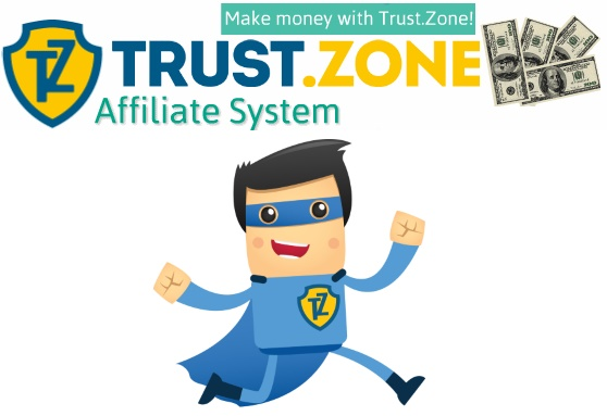 Earn up to $50 per sale with Trust.Zone Affiliate Program