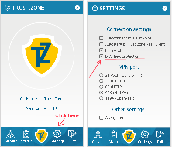 Does Trust.Zone VPN protect users from DNS Leak and WebRTC Leak? Definitely, YES
