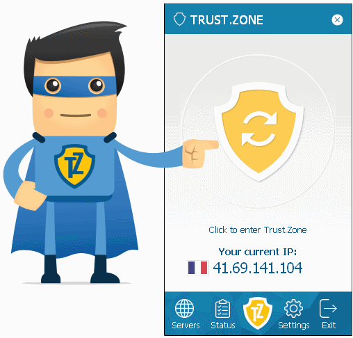 Trust.Zone Chrome and Mozilla VPN Extensions Updated