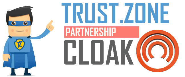 Trust.Zone Announces a Partnership with Cloak Crypto