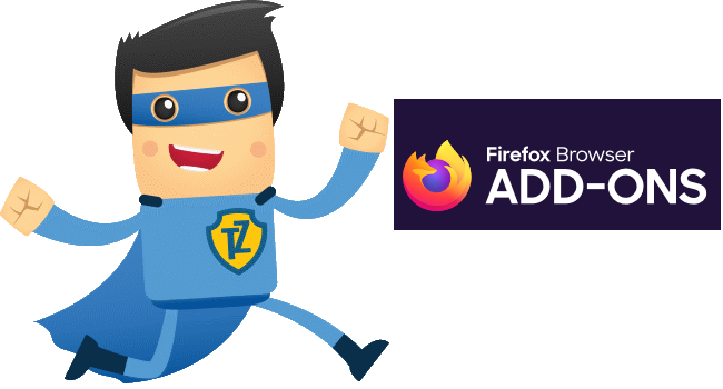 Mozilla Firefox Trust.Zone VPN Extension is Available