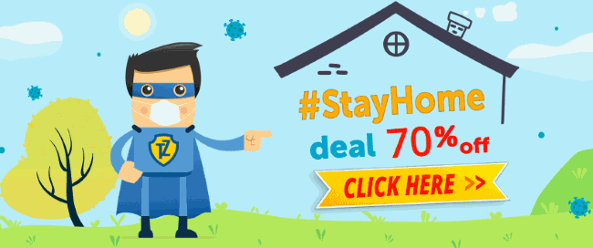 Trust.Zone has started #StayHome Big Sale - 70%
