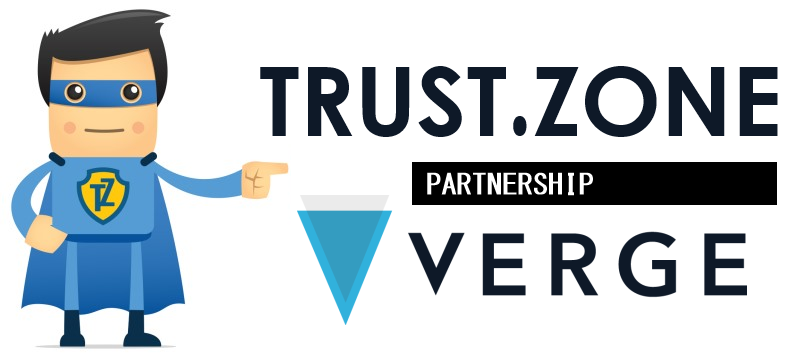 Trust.Zone VPN and Verge (XVG) Partnership: Anonymous VPN and Anonymous Cryptocurrency Made Internet Surfing Completely Untraceable
