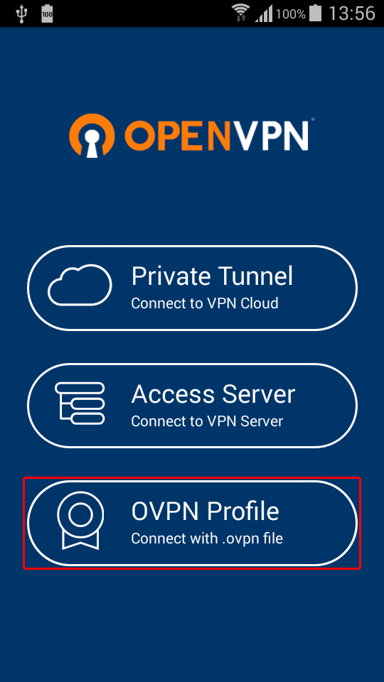 How Create VPN Connection for Android 9 (Pie) with OpenVPN