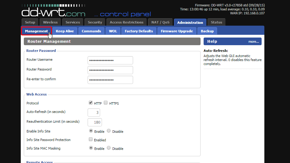 How Configure and Manage VPN for DD-WRT with OpenVPN  Trust